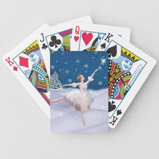 SnödrottningBallerina som leker kort Spelkort