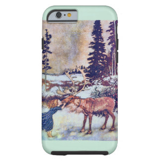 Snödrottningsaga med renen tough iPhone 6 case