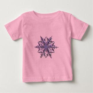 Snöflingor broderad look t-shirts
