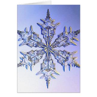 snöflingor hälsningskort