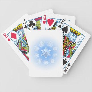 Snöflingor Spel Kort