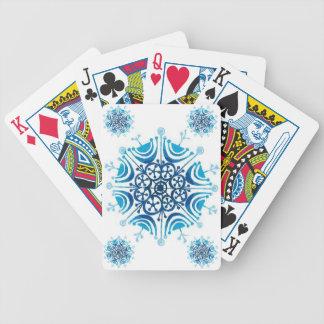 Snöflingor - spel kort