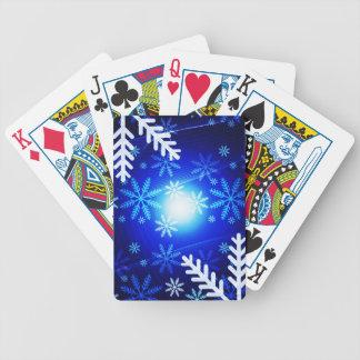 Snöflingor Spelkort
