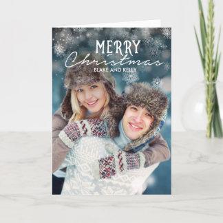 Snögod julkort helgkort