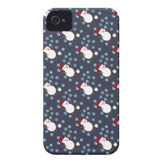 Snögubbe och pingvin Case-Mate iPhone 4 skal