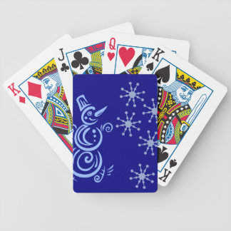 SnögubbeSnowflakedesign Spelkort