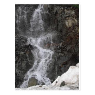 SnöMelt på Mt. Ranier Vykort