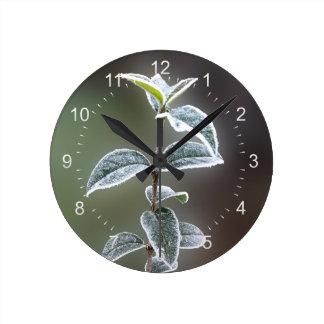 snöre på löv rund klocka