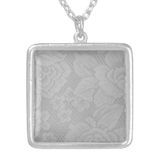 Snöre Silverpläterat Halsband