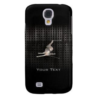 Snöskidåkning; Kall svart Galaxy S4 Fodral