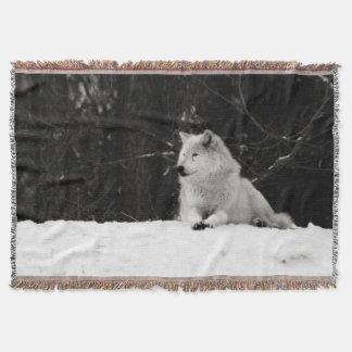 Snövarg Mysfilt