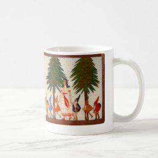 Snövit och koppen för sju dvärgar kaffemugg