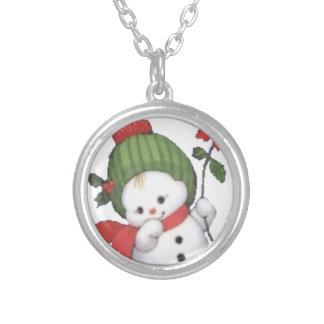 snowbaby05.gif halsband med rund hängsmycke
