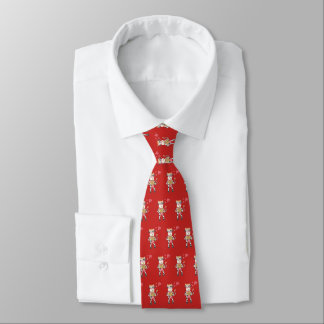 Snowbell den förälskade röda tien för ko slips