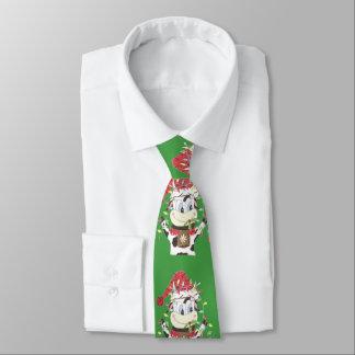 Snowbell kon & tien för julaftonljusgrönt slips
