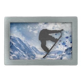 Snowboarder i flyg