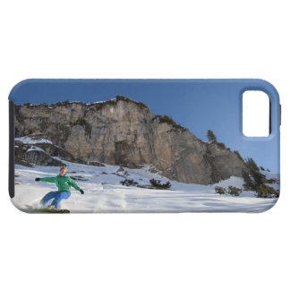 Snowboarderen frigör ridning iPhone 5 Case-Mate skydd