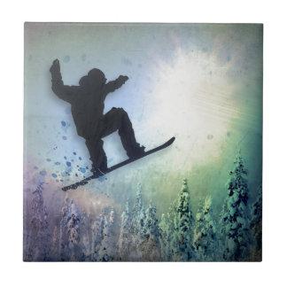 Snowboarderen: Luft Kakelplatta