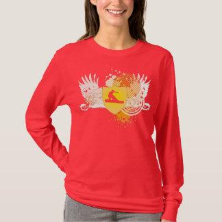 snowboarding hög-fi. v2. t-shirt