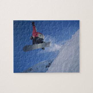 Snowboarding på Snowbirdsemesterorten, Utah (HERR) Pussel