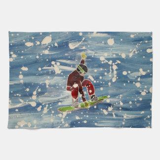 Snowboardingteahandduk Kökshandduk
