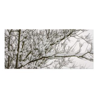 snowed grenar reklamkort