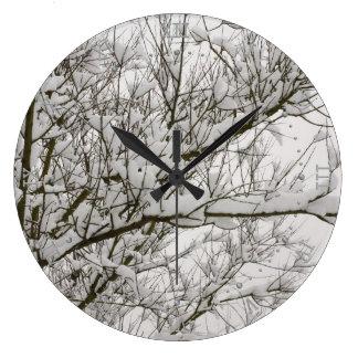 snowed grenar stor klocka