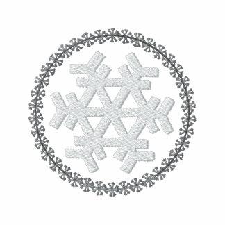 Snowflake broderad skjorta