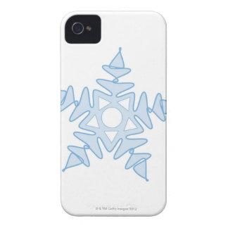 Snowflake iPhone 4 Case-Mate Fodral