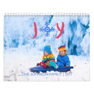 Snowflakeglädje | 2017 beställnings- kalender kalender