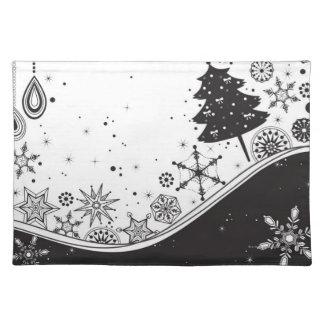 Snowflakejulillustration Bordstablett