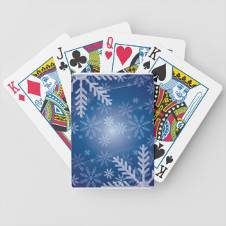 Snowflakekort!! Spelkort