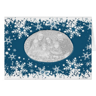 snowflakemall hälsningskort
