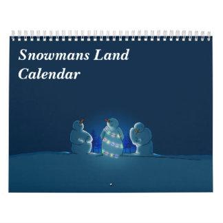 Snowmans landkalender kalender