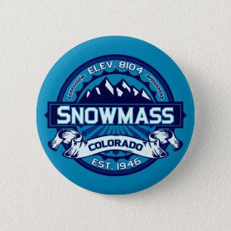 Snowmass knäppas is standard knapp rund 5.7 cm