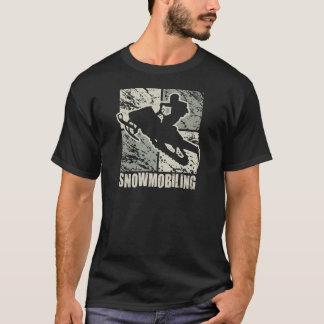 Snowmobiling Cubism T-shirts