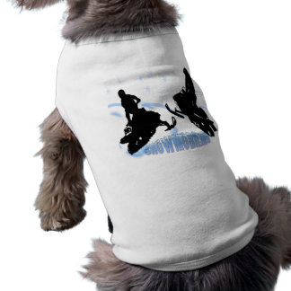 Snowmobiling - Snowmobilers älsklings- bekläda Långärmad Hundtöja