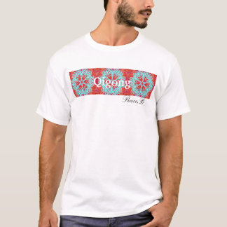 Snubbla hjärtamandalaen tee shirt