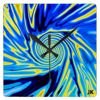 Snurrande Fyrkantig Klocka