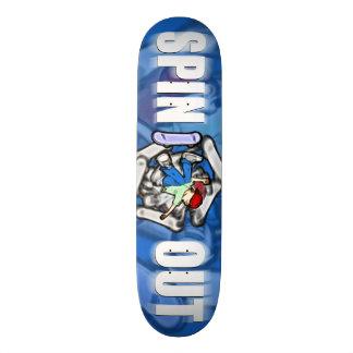 Snurrande ut old school skateboard bräda 18 cm