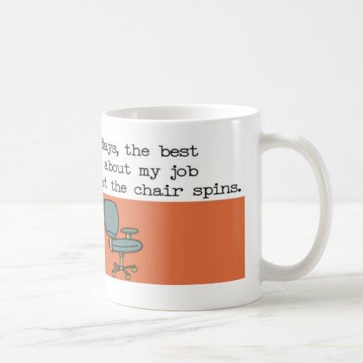 Snurrandestolmugg Kaffe Muggar