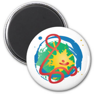 Snyggt-Om Magnet Rund 5.7 Cm