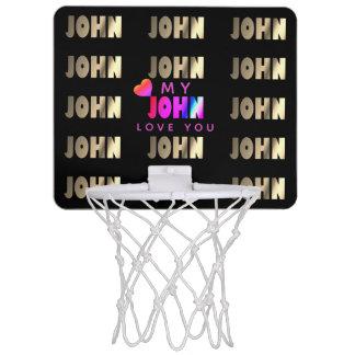 Snyggt romantisk basket för John Mini-Basketkorg