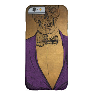 Snyggten benar ur skelett i en kostym barely there iPhone 6 fodral