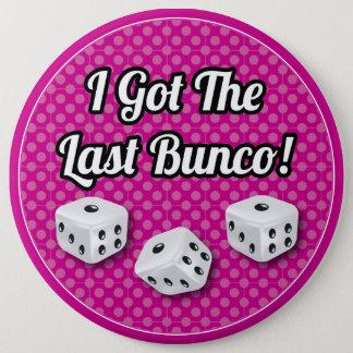 Snyggten fick jag den sist Buncoen! Jumbo Knapp Rund 15.2 Cm