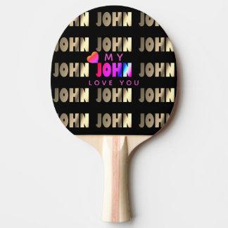 Snyggten ilar fladdermöss för John Pingisracket