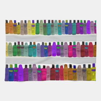Soap flaskaregnbågen - för badrummar, salonger kökshandduk