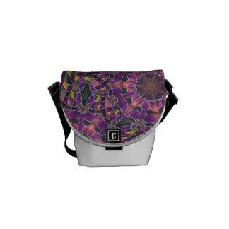 Social glamour messenger bag