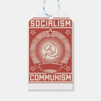 Socialism och kommunism presentetikett
