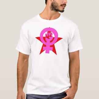 Socialistisk feminist t shirts